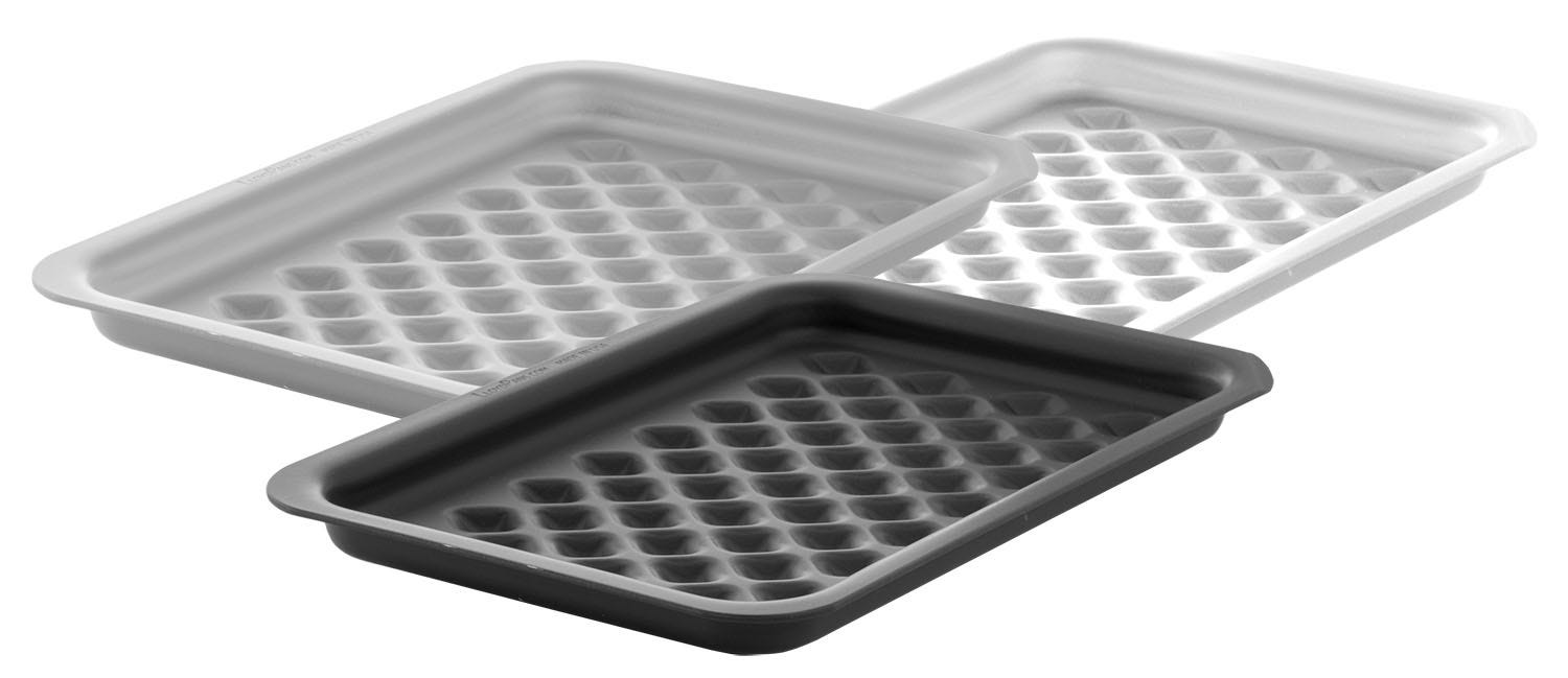 Diarmond Grill Pans in 3 Finishes