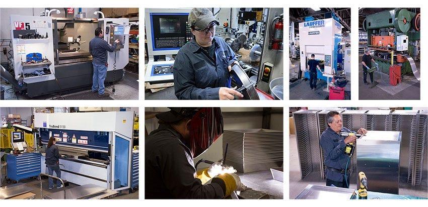 LloydPans manufacturing