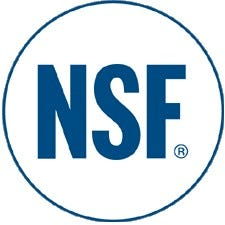 NSF Approved Product